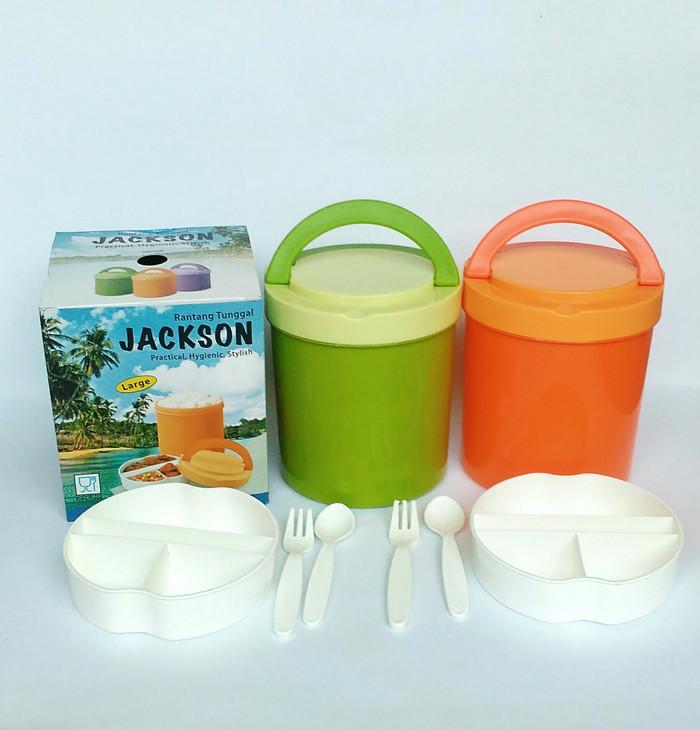 harga Rantang tunggal jackson 14 cm food basket 14 cm plastik food grade Tokopedia.com