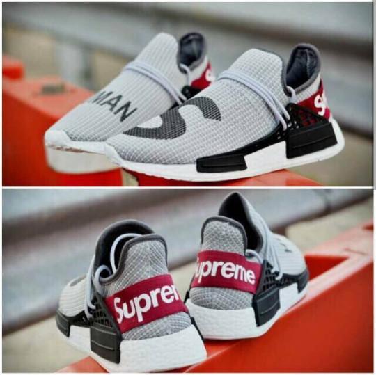 new styles f79de efdc9 Jual IMPORT QUALITY Sepatu Adidas Human Race Supreme size 39-44 - Putih, 40  - DKI Jakarta - JARTAshoes   Tokopedia
