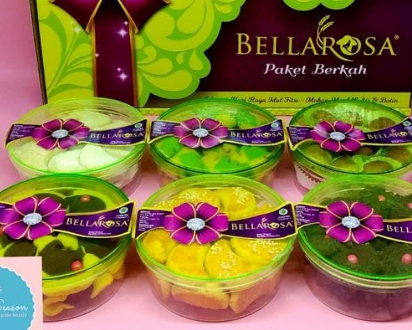Paket Kue Kering Lebaran BELLAROSA - Paket Berkah toples bulat