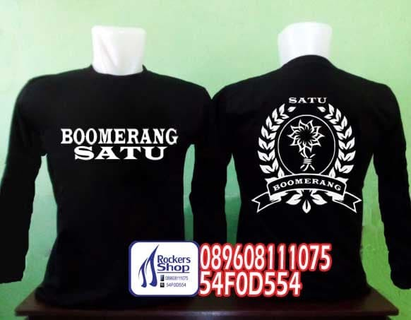 harga Kaos boomerang satu boomers lengan panjang Tokopedia.com