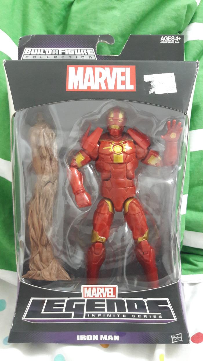 Jual Marvel Legend Iron Man W BAF Groot MIB Jakarta Selatan PB&BS Waroong