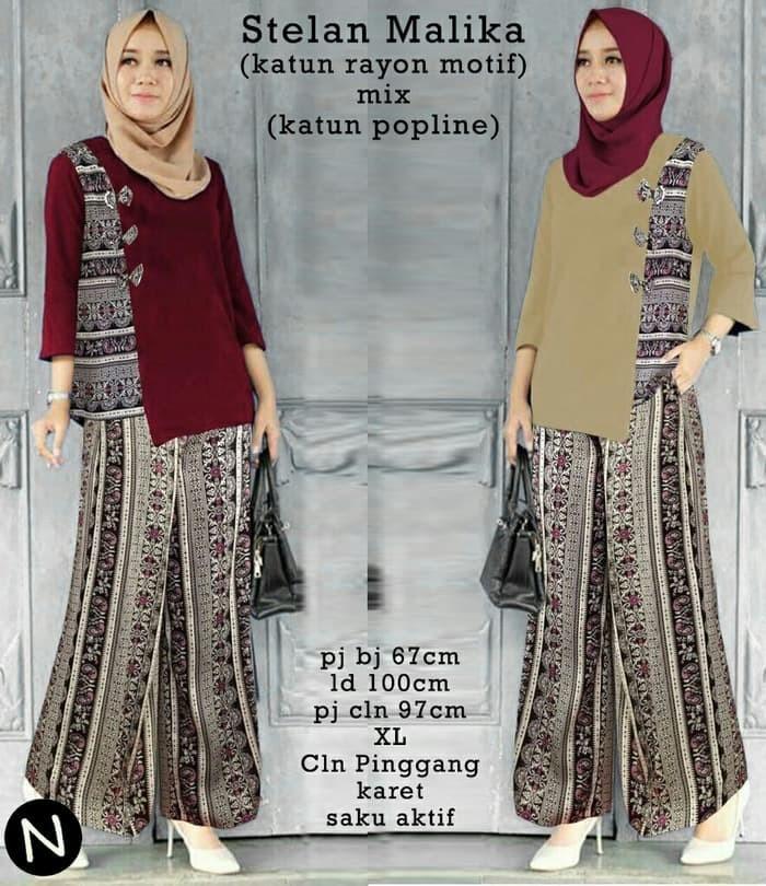 Jual Model Baju Muslim Gamis Terbaru Dan Modern Stelan Malik Diskon Kota Bandung Toko Online Terpercaya 1 Tokopedia
