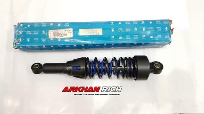 harga Shockbreaker original bajaj pulsar xcd125 hitam biru jb122014 Tokopedia.com