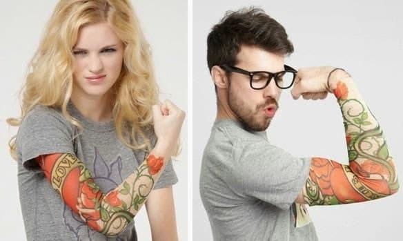 harga Manset lengan motif tato / arm sleeve tato / sarung tangan motif tato Tokopedia.com