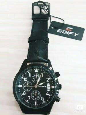 harga Jam tangan edify 81713 kulit original free souvenir Tokopedia.com