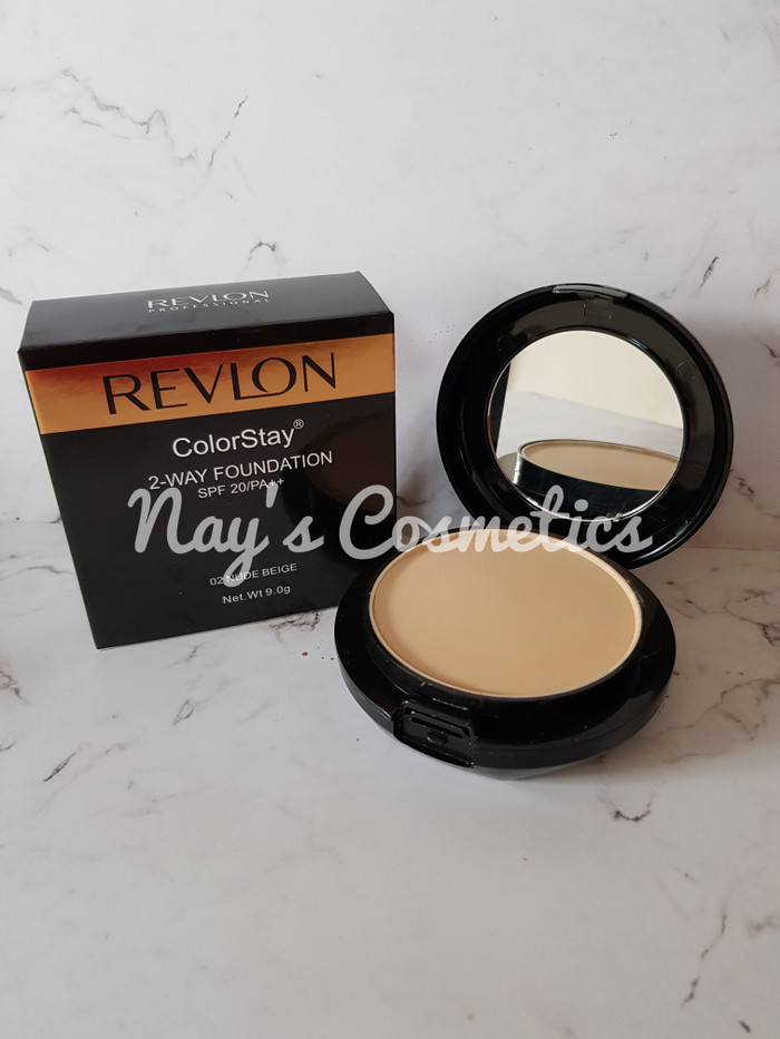 BEDAK REVLON TWC 2 in 1 COLORSTAY 2 WAY FOUNDATION POWDER BLACK GOLD