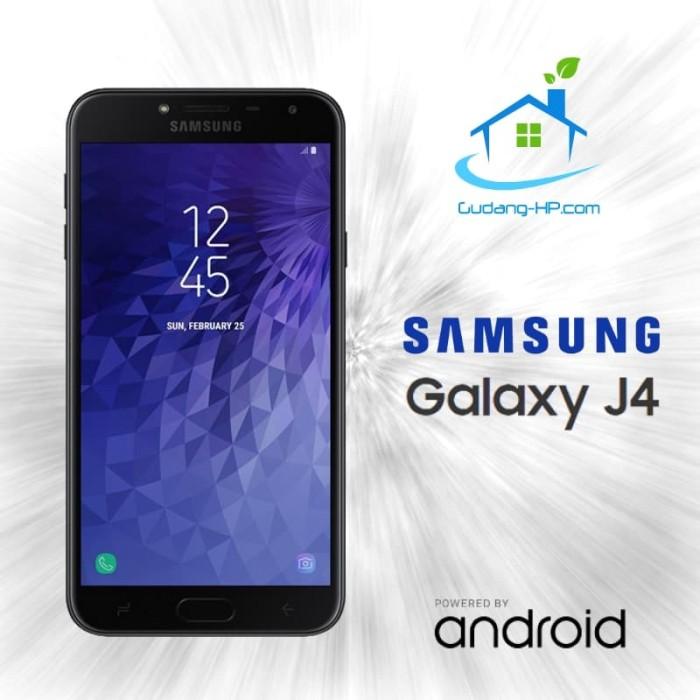 Samsung Galaxy J4 2/32 GB Garansi Resmi Samsung 1 Tahun - Hitam