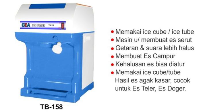 harga Gea ice planner/saver mesin utk membuat es serut.suara halus Tokopedia.com