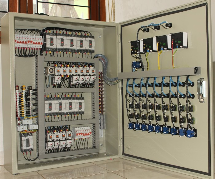 Jual panel listrik star delta 37kw 50hp - Jakarta Barat - Samudra Elektrik on roof panel, pump panel, switch panel, fuse panel, drywall panel, glass panel, maintenance panel,