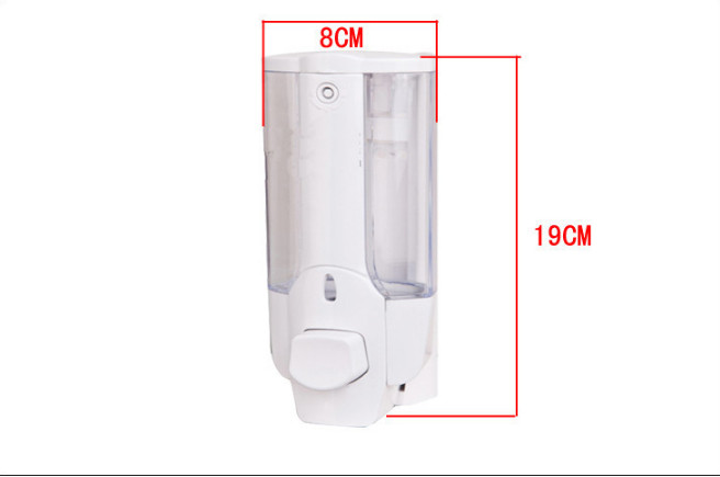 harga Dispenser sabun cair single with key lock - tempat sabun shampoo mandi Tokopedia.com