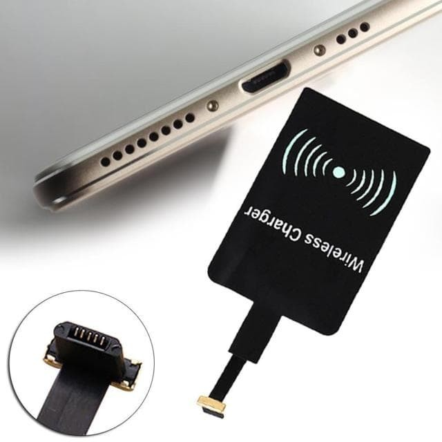 Qi Wireless Charging Reverse Micro USB Receiver For Smartphone