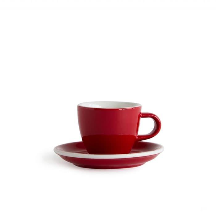 Jual Acme – Demitasse Cup 70ml With Saucer Red Harga Promo Terbaru