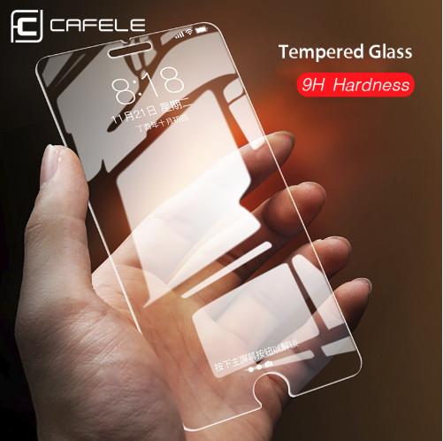 Foto Produk CAFELE Tempered Glass iPhone 5 5s se 6 6s 6s Plus ORIGINAL - iPhone 5 5s se dari Cafele Official Store
