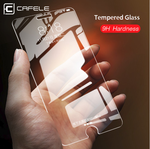 Foto Produk CAFELE Tempered Glass iPhone 7 7 Plus 8 8 Plus ORIGINAL - iPhone 7 8 SE dari Cafele Official Store