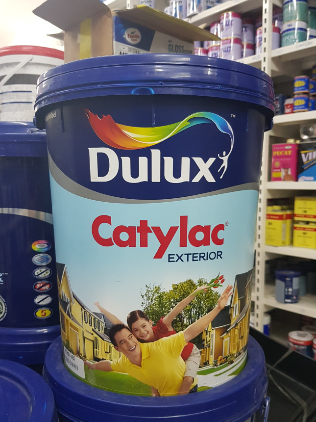 harga Cat tembok dulux catylac exterior ready mix (25 kg) Tokopedia.com
