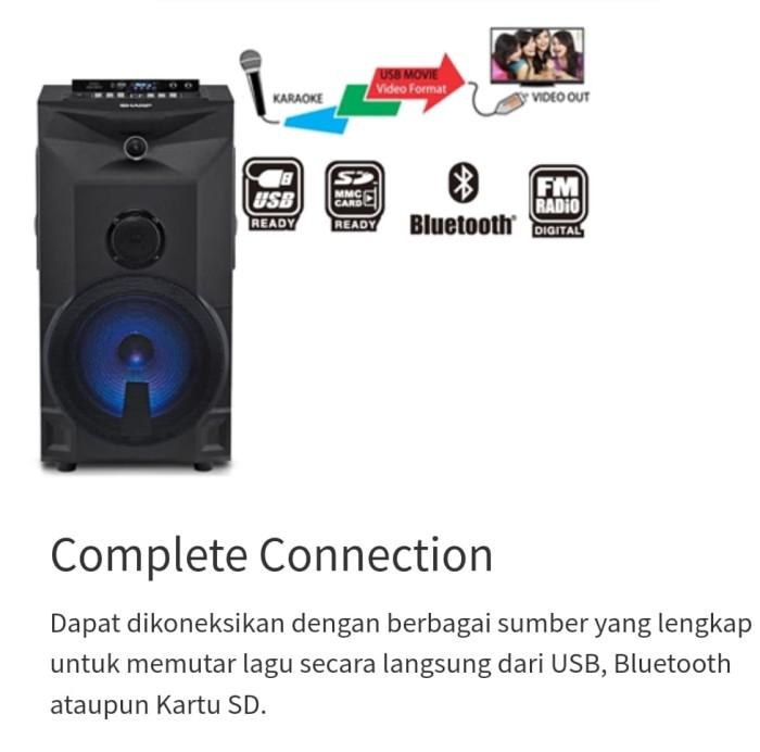 Speaker Aktif Sharp CBOX-PRO10UBB | CBOX PRO10UBB CBOXPRO10UBB