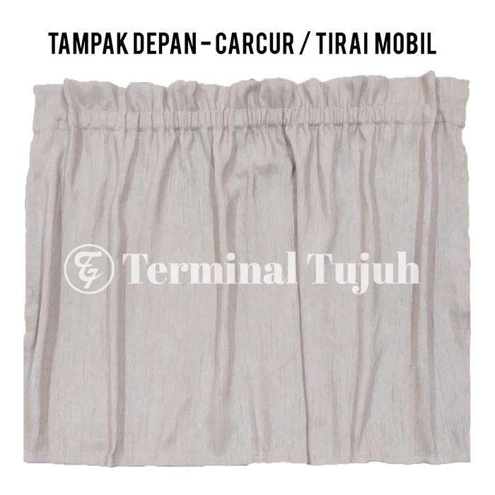 CARCUR TIRAI GORDEN KACA MOBIL PORTABLE / UV PROTECTION / SUN SHIELD