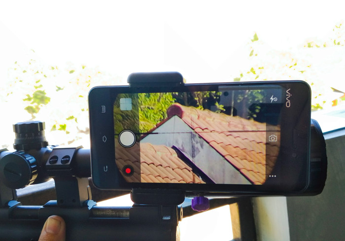 Jual mounting kamera samping teleskop telescope hunting berburu