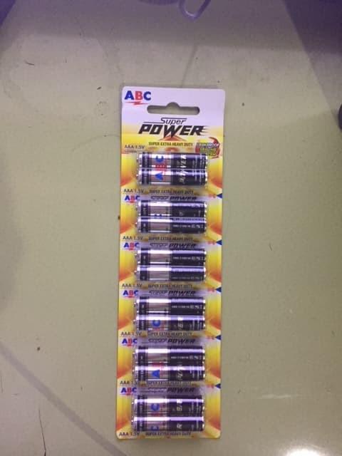 Baterai Abc Super Power Aaa - Blanja.com