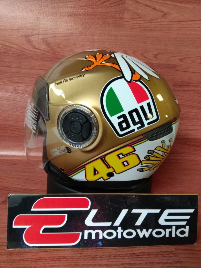 Helm AGV Citylight Rossi Chicken 46 4