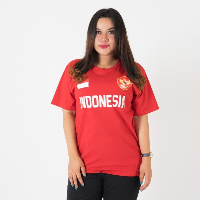 Fashion big size t-shirt world cup - indonesia 4xl