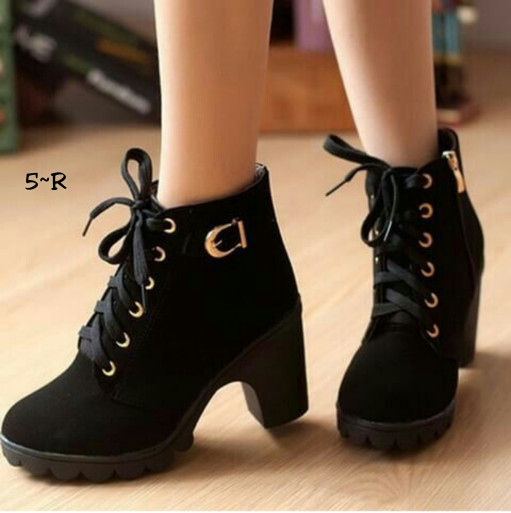 harga Boot heels sepatu cewek Tokopedia.com