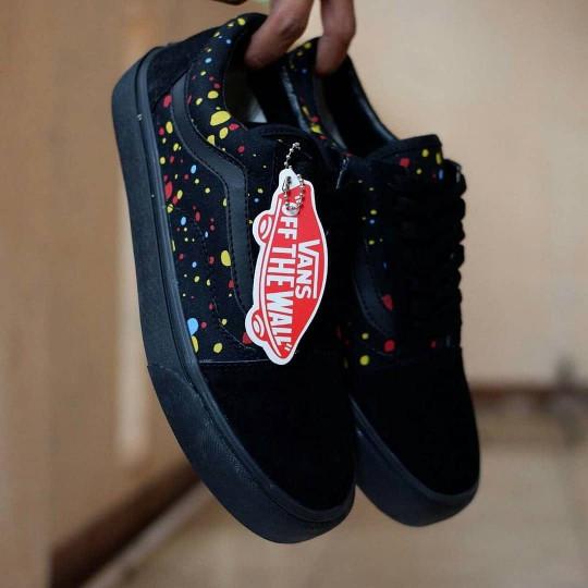 Jual Sepatu Vans OldSkool Patta   Black Hitam   Pria Cewek Wanita ... 9dfdc729a9