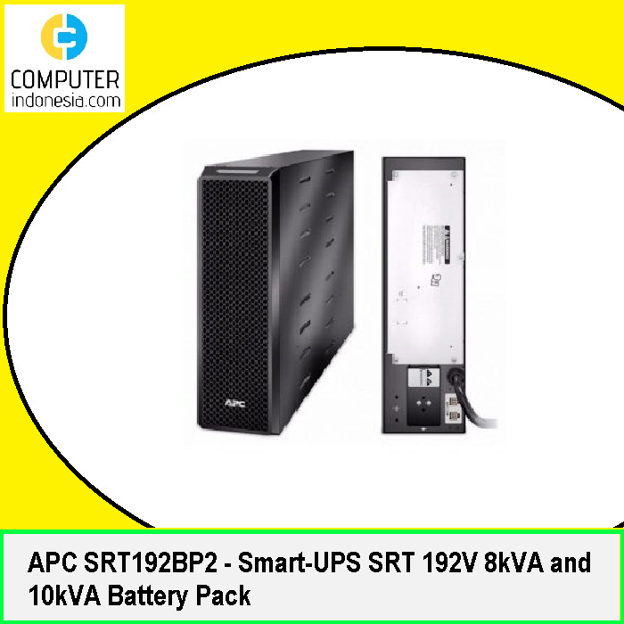 APC SRT192BP2 SmartUPS SRT 192V 8KVA and 10KVA Replacement Battery Rechargeable, high Rate