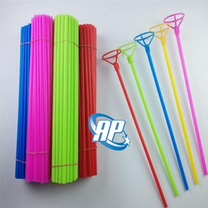 Foto Produk stick balon foil / stik foil / stick Voil / stik balon foil / tongkat dari ANEKA PARTI