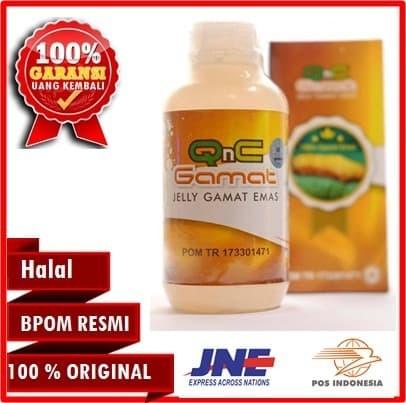 Obat Herbal QnC Jelly Gamat/Jeli Gamat Asli/Jelly Gamat Original 300ml