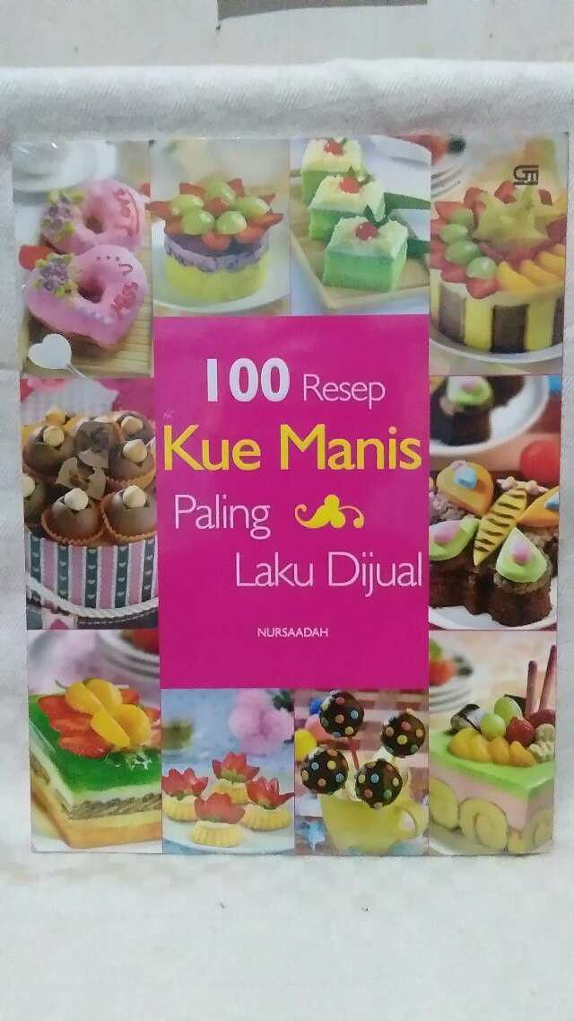 Jual 100 Resep Kue Manis Paling Laku Di Jual Nursaadah Jakarta Timur Dnisa Toys Tokopedia