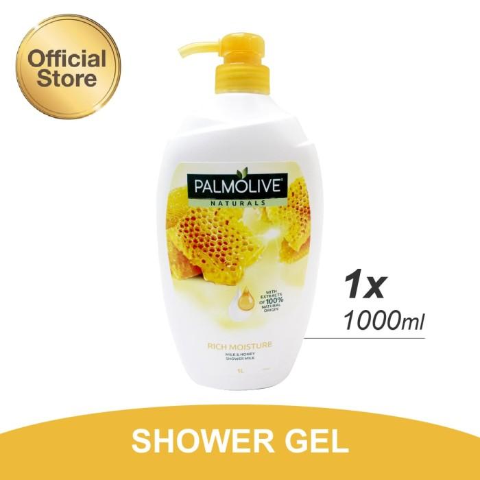 Palmolive Milk & Honey Shower Gel/Sabun Mandi Susu 1L