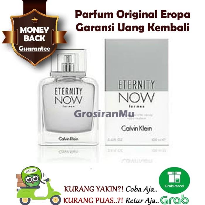 Parfum Pria Original CK Calvin Klein Eternity Now For Men Ori Reject