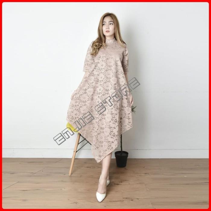 harga Blouse brokat baju kekinian dress gaun pesta model fashion wanita Tokopedia.com