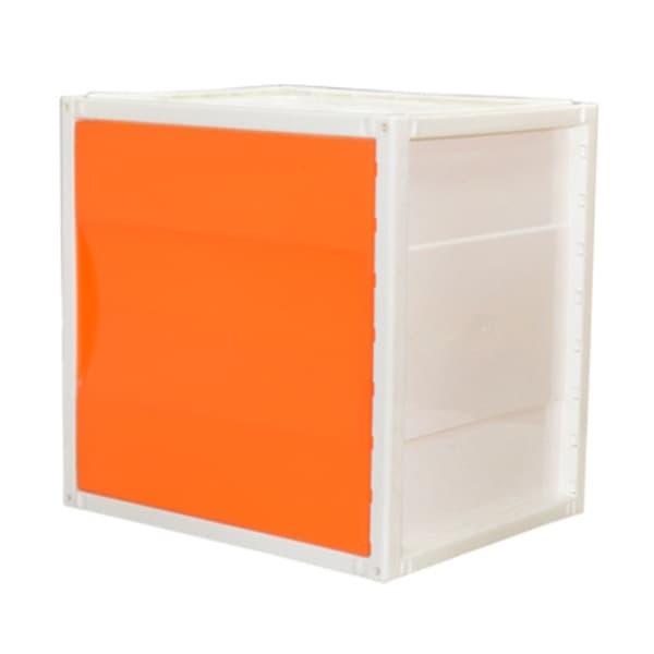 harga Highpoint inno cube 2 - knock down modular w/door panel - orange Tokopedia.com
