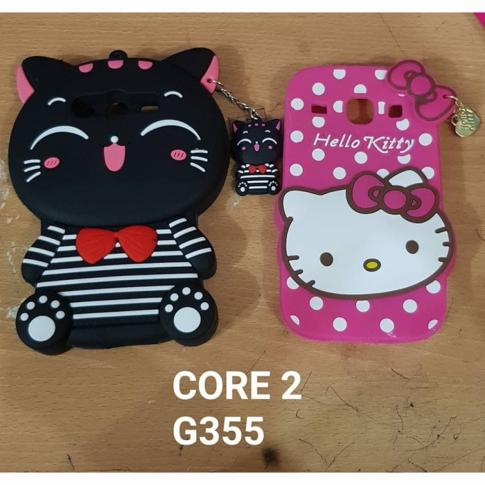 ... Timbul 4D Karakter CAT BLACK / PINK cantik -shp Terbaru. Source. ' Harga Best Seller Case Boneka 3d Samsung Core 2 G355 Paling Murah Harga Rp 53.200