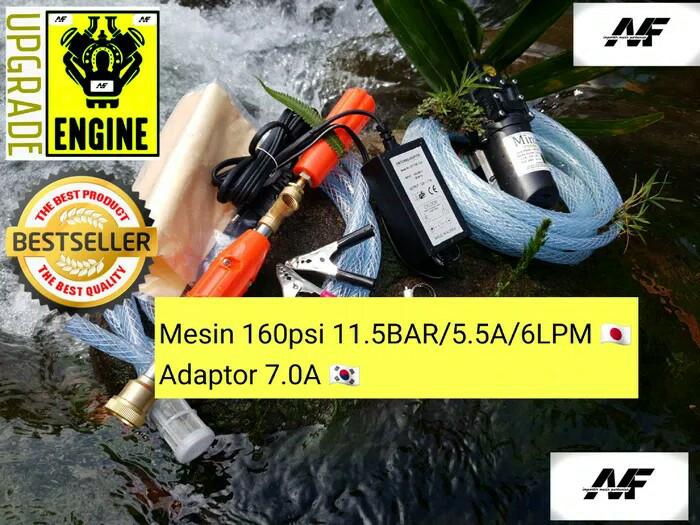 harga Mesin terbaru 120psi 5lpm 8.5bar alat cuci motor ac steam xcxxvc Tokopedia.com