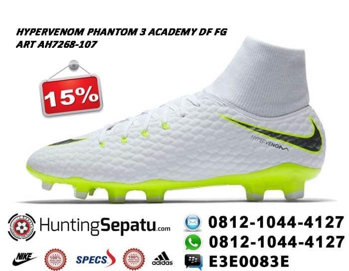 sports shoes 72524 a7bd5 ... germany sepatu bola nike hypervenom phantom3 academy df fg original  ah7268 107 f9b56 151d5
