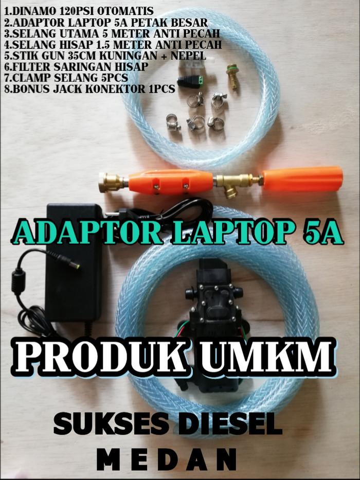harga Set lengkap mesin power sprayer alat cuci motor mobil ac steam Tokopedia.com