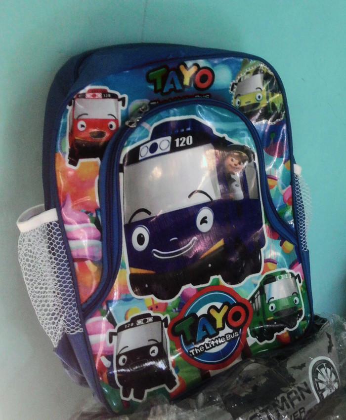 Tas Ransel Tayo Untuk Anak Paud, TK & SD