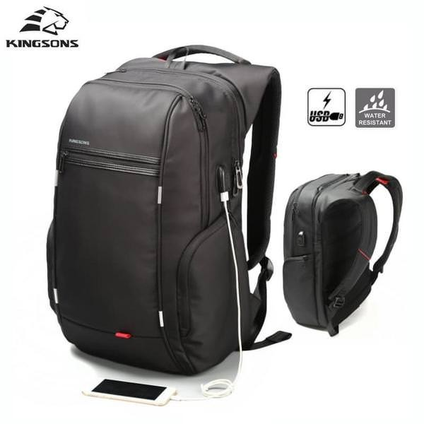 harga 06 - kingsons tas ransel laptop 17  tas laptop mac tas laptop asus rog Tokopedia.com