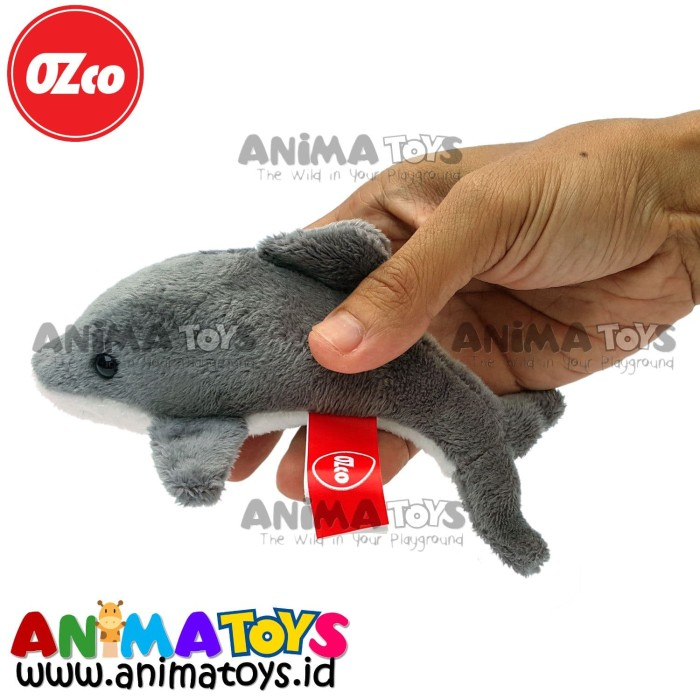 harga Boneka hewan ikan lumba-lumba dolphin animatoys ozco soz043 Tokopedia.com