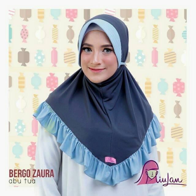 Jual Jilbab Hijab Bergo Simple Zaura Miulan Kerudung Jeblus Termurah Choco Kab Karawang Miulan Karawang Tokopedia