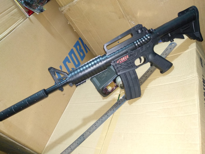 harga Mainan airsoft d'cobra m4 - 1 , cobra m4-1 up to 265 fps m4 Tokopedia.com