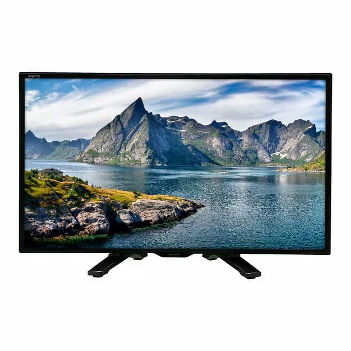 Tv led sharp 24 inch sharp 24 le 175 ( usb movie )