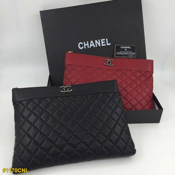 29859e23c9a1 Jual Tas Chanel O Case Large #1170CNL -- Tas Fashion Import - Hitam ...