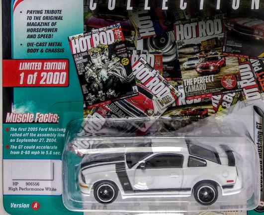 2004 Mustang Gt 0 60 >> Jual Johnny Lightning 2005 Ford Mustang Gt White Jakarta Barat Emperortuna Tokopedia