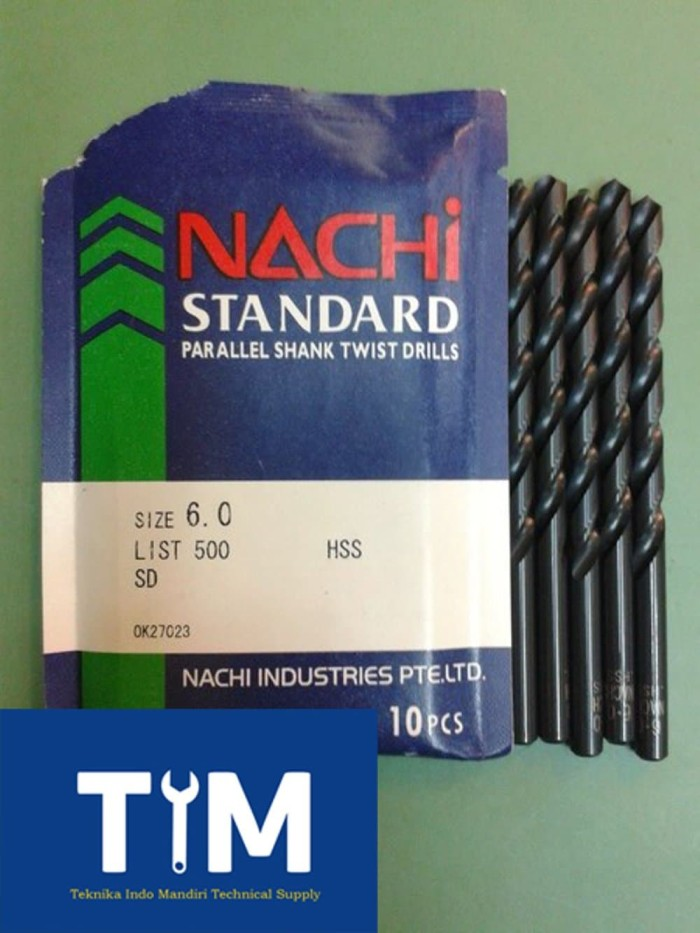 NACHI Mata Bor Besi HSS 6mm Limited