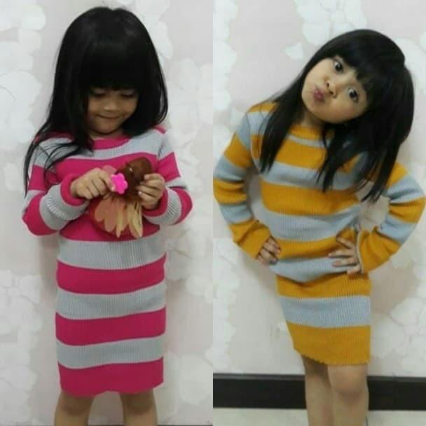 Khalila Stripe - Kalila Stripe - Anak dress - Anak pakaian