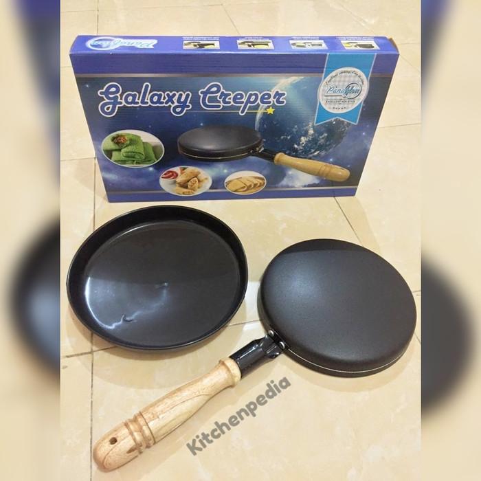 harga Galaxy creper / dadar gulung / kulit lumpia / teflon Tokopedia.com